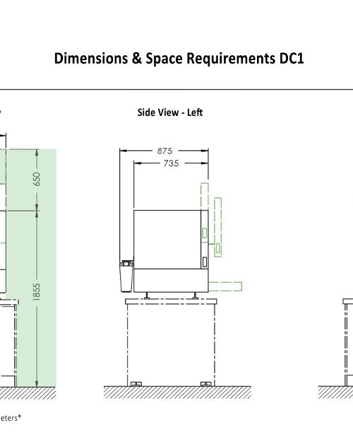 dcs dc1 dimensions
