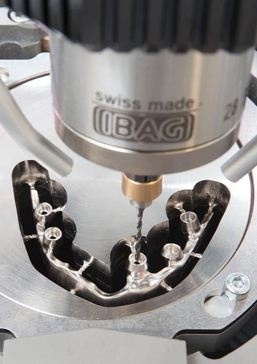 titanium milling tool view