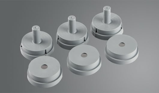 Flex Ring Formers Bases & Tops 13mm