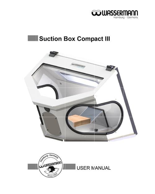 Suction Box Compact III Manual