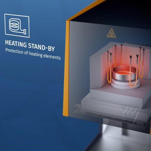 Mihm Vogt MV-R Heating Stand-by Illustration