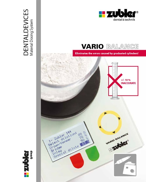 Vario balance Brochure