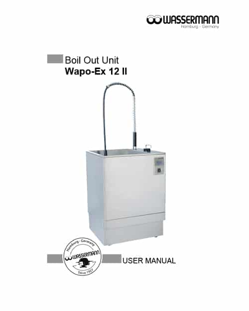 Wassermann Wapo-Ex 12 II User Manual