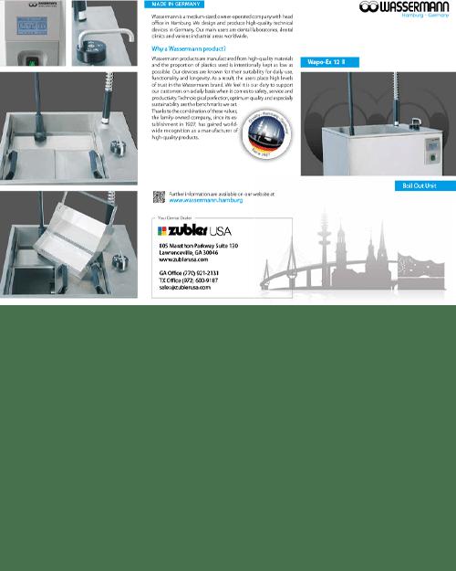 Wassermann Boilout Brochure