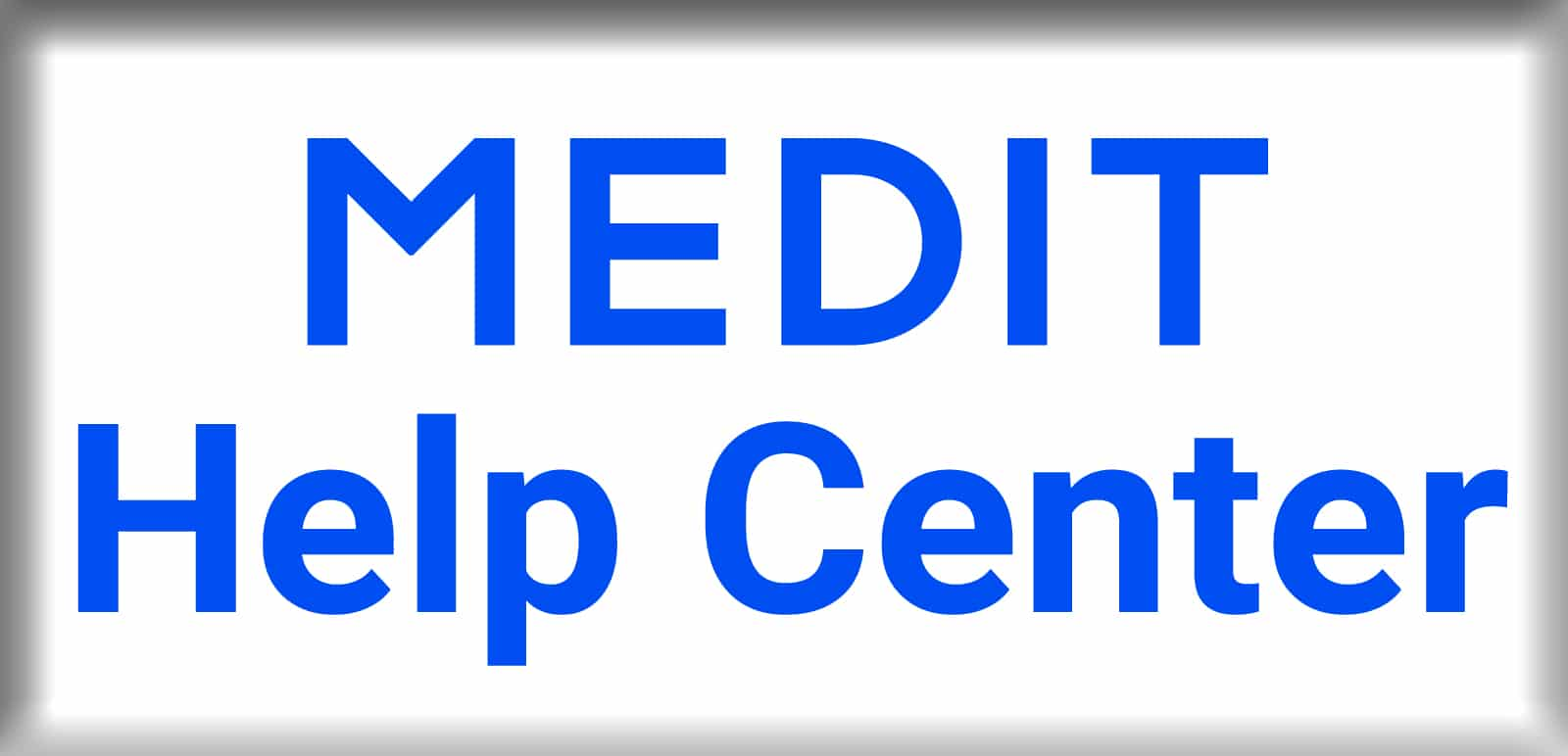 MEDIT HELP CENTER