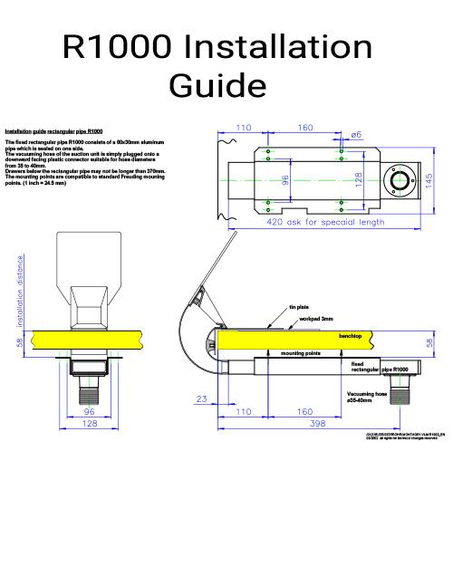 R100 Installation Guide